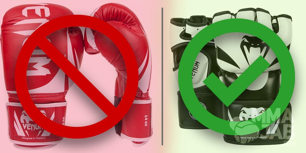 Боксерская перчатка VS Шингарт