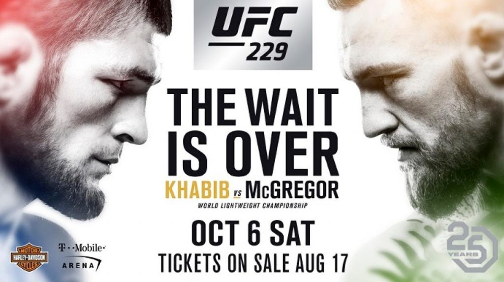 UFC 229 - Khabib vs. McGregor