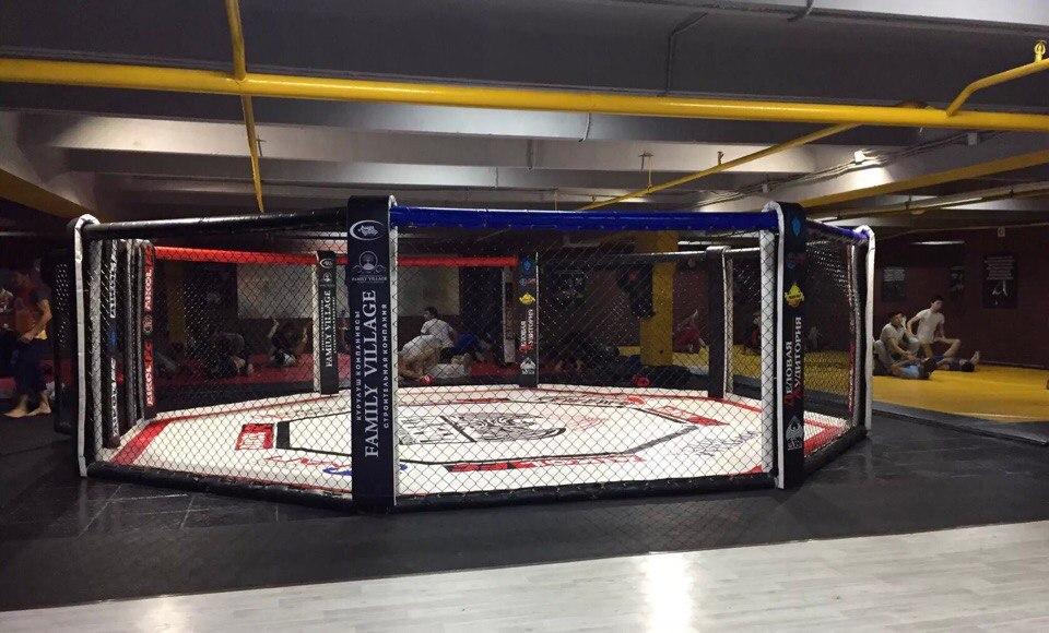 Напольный ринг в ММА - Октагон - Восьмиугольник